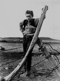 James Dean Posed in Black Vest and Long Sleeve Shirt Photo by  Movie Star News