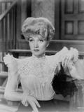 Marlene Dietrich Looking Away in White Dress Classic Portrait Photo by  Movie Star News
