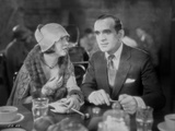 Al Jolson Eating with a Woman in a Restaurant in a Classic Movie Scene Photo by  Movie Star News