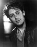James Spader in Black Leather Jacket With Black and White Background Photo af Movie Star News