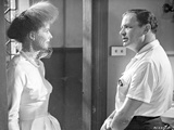 Suddenly Last Summer Lady Talking With Man Scene Excerpt from Film in Black and White Photo by  Movie Star News