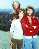 Bee Gees Band Members standing Behind a Mountain Scenery Photo by  Movie Star News