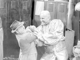 Requiem For A Heavyweight Two Men Fighting Scene Excerpt from Film in Black and White Photo by  Movie Star News