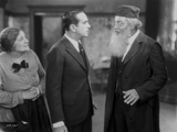 Al Jolson Talking Seriously with A Man with Beard in a Classic Movie Scene Photo by  Movie Star News