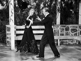 Fred Astaire and Ginger Rogers Dancing in White Tie and Tails Photo by  Movie Star News