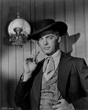 Rory Calhoun in Cowboy Outfit Classic Portrait With Cigarette Photo by  Movie Star News