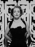 Joan Crawford wearing a Tank top Dress with Necklace in a Classic Portrait Photo by  Movie Star News