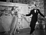 Fred Astaire and Ginger Rogers Dancing and Enjoying the Moment Photo by  Movie Star News