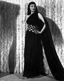 Maria Montez Posed in Black Dress with One Hand on Hips Photo by  Movie Star News