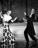 Fred Astaire and Ginger Rogers Ballroom Dancing and smiling to Each Other Photo by  Movie Star News