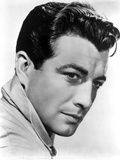 Robert Taylor Posed in Popped Collar with White Background Photo by  Movie Star News