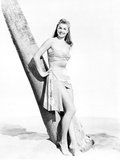 Esther Williams Standing Under the Tree in Black and White Photo by  Movie Star News