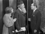 Al Jolson Talking to an Old Couple in a Classic Movie Scene Photo by  Movie Star News