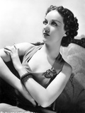 Fay Wray Posed with Hands Crossed and Old Fashioned Hairdo Photo by  Movie Star News