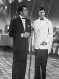 Dean Martin and Jerry Lewis Scene with Two Men in a Formal Attire Photo by  Movie Star News
