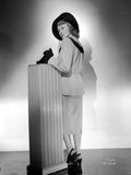 Eve Arden on Long Sleeve Top with Hat Side View Portrait Photo by  Movie Star News