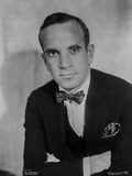 Al Jolson wearing Black Suit and a Bow Tie in Close Up Portrait Photo by Florence Vandamm