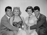 Dean Martin and Jerry Lewis Group Picture in Classic Portrait Photo by  Movie Star News