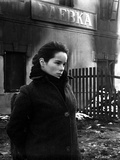 Geraldine Chaplin wearing Black Fur Coat Side View Angle Photo by  Movie Star News