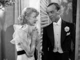 Fred Astaire and Ginger Rogers Scene from Top Hat Film Photo by  Movie Star News