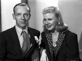 Fred Astaire and Ginger Rogers Couple having a Conversation Photo by  Movie Star News