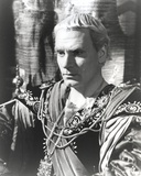 Laurence Olivier wearing Gladiator Outfit Black and White Portrait Photo by  Movie Star News