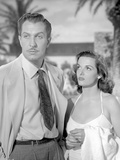 Classic Portrait of the Movie Las Vegas Story in Couple Portrait Photo by  Movie Star News