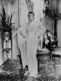 Marlene Dietrich standing in Classic Gown with Hands on Hips Photo by  Movie Star News