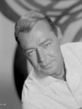 Alan Ladd Leaning on the Right in Close Up Portrait in Classic Photo by  Movie Star News