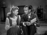 Fred Astaire and Ginger Rogers Talking Intimately from Movie Scene Photo by  Movie Star News