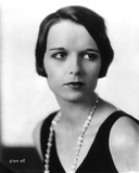 Louise Brooks Posed in Black Tank top with Diamond Necklace Photo by  Movie Star News