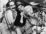 Marx Brothers Portrait with Three man Sucking Up Something Photo by  Movie Star News