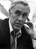 Jason Robards in Black With Black and White Background Photo by  Movie Star News