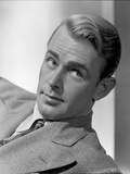 Alan Ladd Leaning on the Chair wearing Suit Close Up Portrait Photo by  Movie Star News