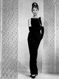 Movie Star News - Audrey Hepburn Little Black Dress Breakfast at Tiffany's +tograph Hi... Photo