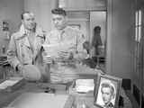 From Here To Eternity Policemen Holding Paper in Uniform Photo by  Movie Star News