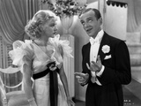 Fred Astaire and Ginger Rogers Conversing in Suit and Dress Photo by  Movie Star News