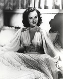Paulette Goddard Seated in Bed wearing Elegant Dress Portrait Photo by  Movie Star News