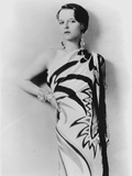 Louise Brooks Posed in Curved Dress with One Hand on Hips Photo by  Movie Star News