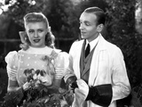 Fred Astaire and Ginger Rogers in White Suit and Dress Photo by  Movie Star News