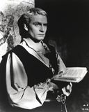 Laurence Olivier in Priest Outfit With Bible Black and White Photo by  Movie Star News