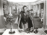 Portrait of Laurence Olivier in Gladiator Outfit Black and White Photo by  Movie Star News