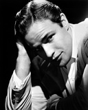 Marlon-B Brando Close Up Portrait wearing White Sleeves Photo by  Movie Star News