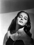 Pier Angeli Posed in Black and White Portrait wearing Black Dress Photo by  Movie Star News