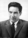 John Cassavetes Posed in Black Suit With Black and White Background Photo by  Movie Star News