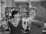 Al Jolson Talking Funny with a Woman in a Classic Movie Scene Photo by  Movie Star News