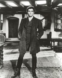 Laurence Olivier in Formal Black Suit in Black and White Portrait Photo by  Movie Star News