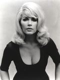 Stella Stevens Posed in Black and White Portrait wearing Black Tights Photo by  Movie Star News