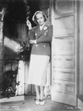 Marlene Dietrich standing in Police Uniform with Cigarette Photo by  Movie Star News