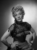 Marlene Dietrich Posed in Black Dress with Hands on Waist Photo by  Movie Star News